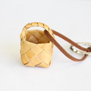 白樺キーホルダー(ワンハンドルかご)制作キット
