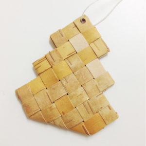 【復刻中】白樺オーナメント(モミの木)制作キット