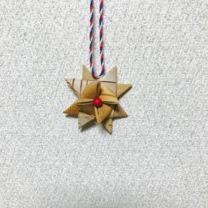 白樺クリスマスオーナメント(スターA/40mm)