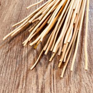 ヒンメリ用麦わら材料 (先節アソート50本/ナチュラル)