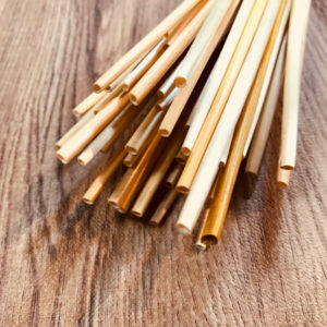 ヒンメリ用麦わら材料 (2節アソート50本/ナチュラル)