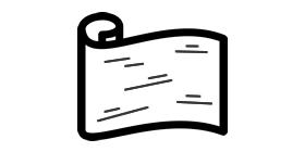 白樺樹皮シート材料